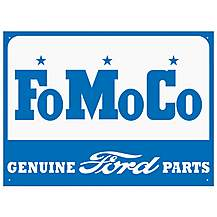 image of Ford FO MO CO Metal Wall Sign