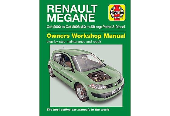Haynes Renault Megane (02 - 05) Manual