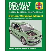 image of Haynes Renault Megane (02 - 05) Manual