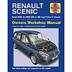 image of Haynes Renault Scenic (03 to 06) Manual