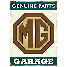 image of MG Genuine Parts Metal Wall Sign