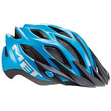 image of MET Crossover Bike Helmet - Cyan 52-59cm