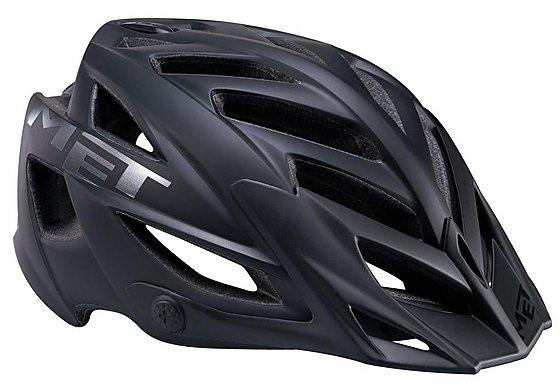 MET Terra Bike Helmet - Matt Black (54-61cm)