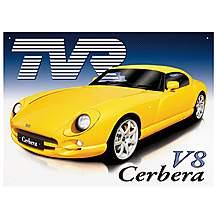 image of TVR Cerbera Metal Wall Sign