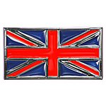 image of Trillogy Union Flag Chrome Badge