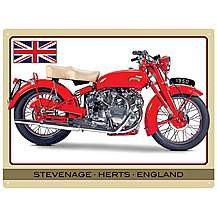 image of Vincent Touring Rapide Metal Wall Sign