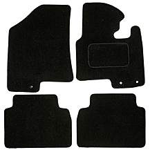 image of Halfords Advanced Fully Tailored Black Car Mats For Kia Sportage 2010-2015