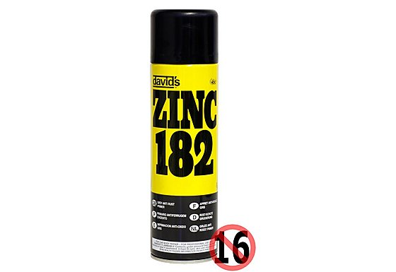 Zinc 182 Grey Anti-Rust Primer 450ml
