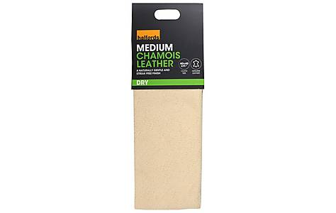 image of Halfords Chamois Leather- Medium