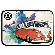 image of VW Camper Grunge Red Keepsake Tin