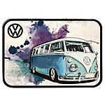 image of VW Camper Grunge Light Blue Keepsake Tin