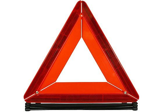 Halfords Warning Triangle