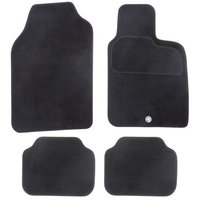 Halfords Semi Tailored Car Mats Black - Shape 4