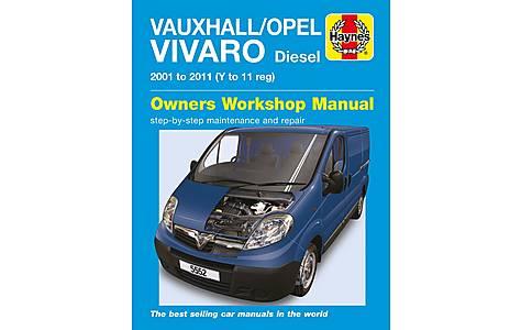 image of Haynes Vauxhall/Opel Vivaro Diesel (2001 - 2011) Manual