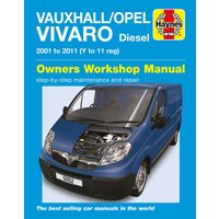 Haynes Vauxhall/Opel Vivaro Diesel (2001 - 2011) Manual