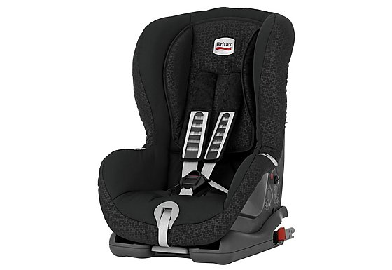 Britax Duo Plus Child Car Seat Black Thunder