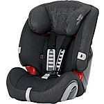 image of Britax Evolva 123 Child Car Seat Black Thunder