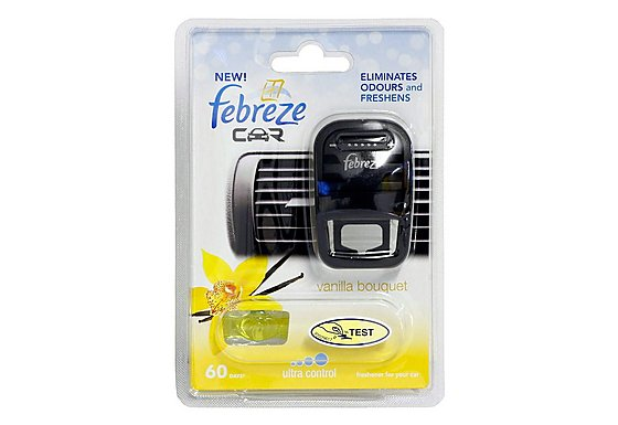 Febreze Vanilla Bouquet Car Air Freshener
