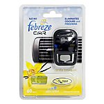 image of Febreze Vanilla Bouquet Car Air Freshener