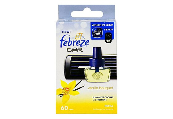Febreze Vanilla Bouquet Car Air Freshener Refill
