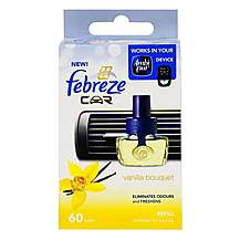 image of Febreze Vanilla Bouquet Car Air Freshener Refill