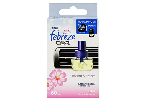 Febreze Blossom & Breeze Car Air Freshener Refill