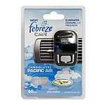 image of Febreze Pacific Air Car Air Freshener