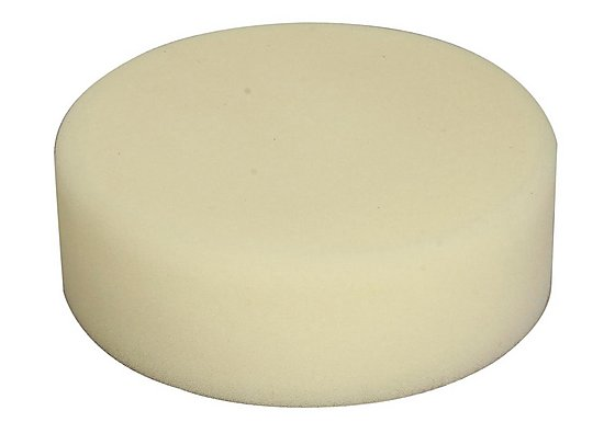 Halfords Hook and Loop Pad 150mm - Medium Hard Foam