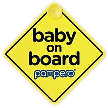 image of Pampero Baby On Board Sign
