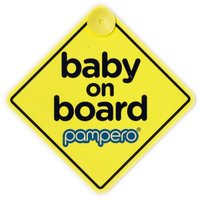Pampero Baby On Board Sign