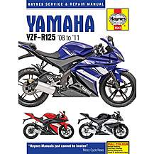 image of Haynes Yamaha YZF-R125 (08-11) Manual