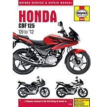 image of Haynes Honda CBF125 (09-12)