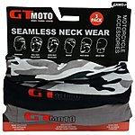 image of GTMOTO Seamless Neckwear -Camo -3 pack
