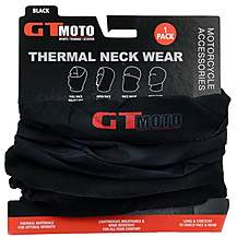 image of GTmoto Thermal Neckwear - Black - 1 Pack