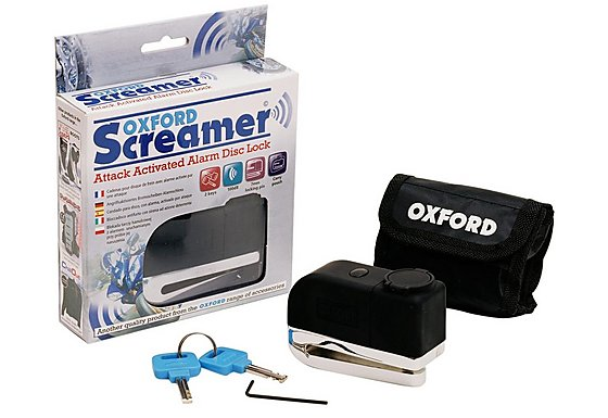 Oxford Screamer Alarm Disc Lock - 3 Pack