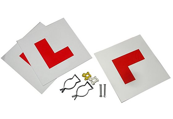 GTmoto Motorcycle L Plate Kit