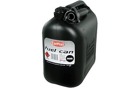 image of Halfords Black Plastic Diesel Can 10L