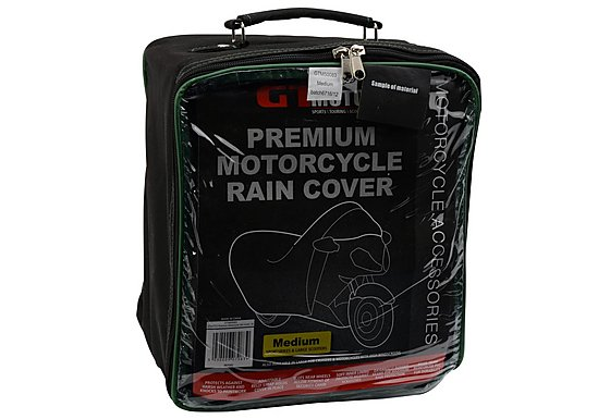 GTmoto Premium Motorcycle Rain Cover - Medium