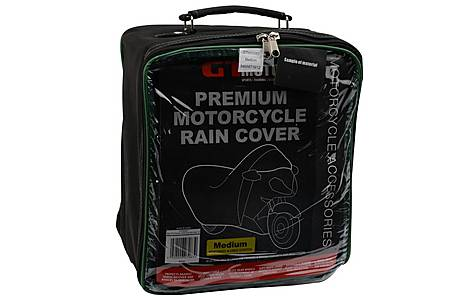 image of GTmoto Premium Motorcycle Rain Cover - Medium