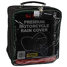 image of GTMOTO Premium Motorcycle Rain Cover - M