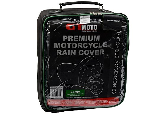 GTmoto Premium Motorcycle Rain Cover Large