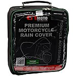 image of GTmoto Premium Motorcycle Rain Cover Large