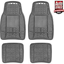 image of Michelin All Weather 4 Piece Car Mat Set Black