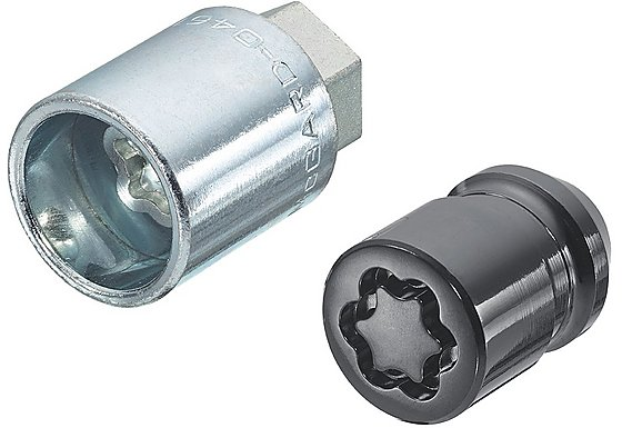 McGard Black Edition Security Locking Wheel Nuts 24137SUB