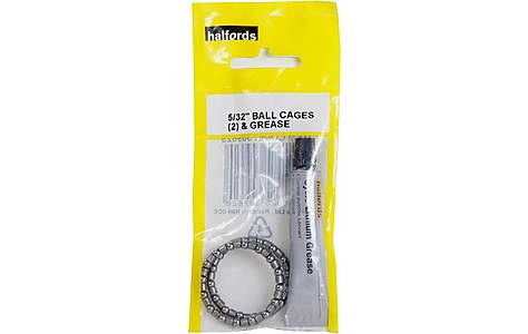 """image of Halfords Headset Cages and Grease - 5/32"""""""