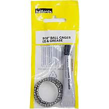 image of Halfords Headset Cages and Grease - 5/32""