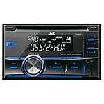 image of JVC KW-R400 2-DIN USB Car Stereo with Dual Aux