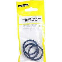 image of Halfords Aheadset Spacers - 1 1/8""