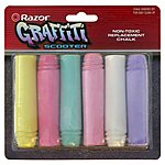 image of Razor Graffiti Scooter Chalk Refill Pack