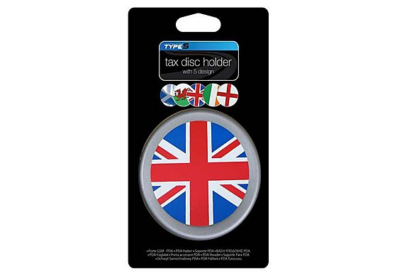 Type S Multi Flag Tax Disc Holder